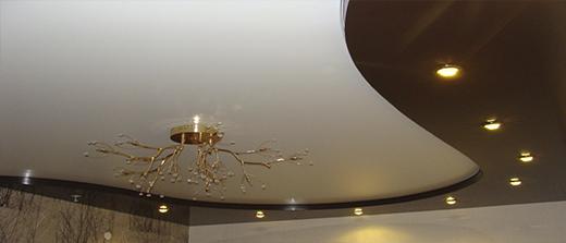 Натяжные потолки Могилев в спальню
