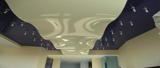 Натяжные потолки Могилев в зал